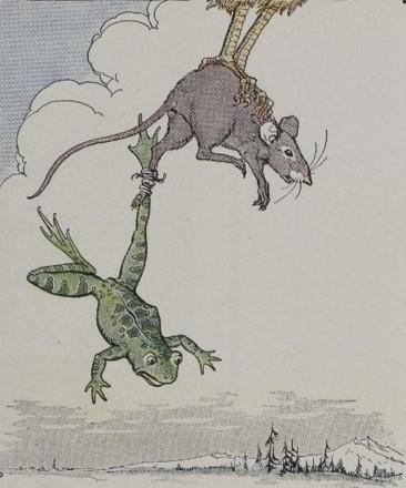 Miš i žaba