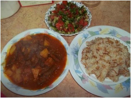 Ćufte sa rižom