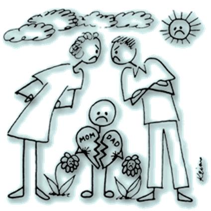 Najčešće pogreške razvedenih roditelja