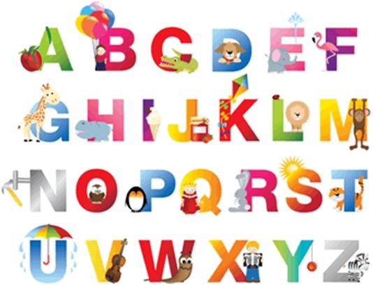 Alphabet Words – Alfabet riječi