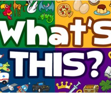 What's this? – Šta je ovo?
