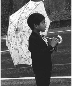 Dijete i kišna dova