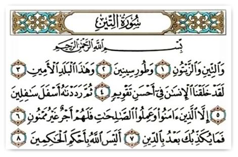 95. sura – Et-Tīn (Animirani Kur'an)
