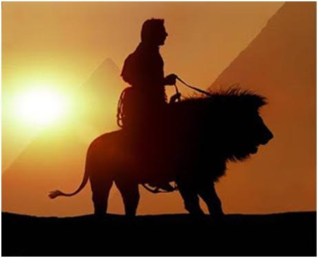 Šejh koji je jahao na lavu