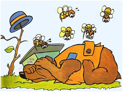 Medvjed i pčele