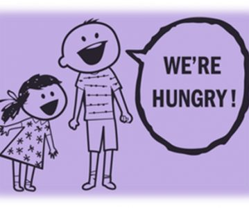 We're hungry – Gladni smo
