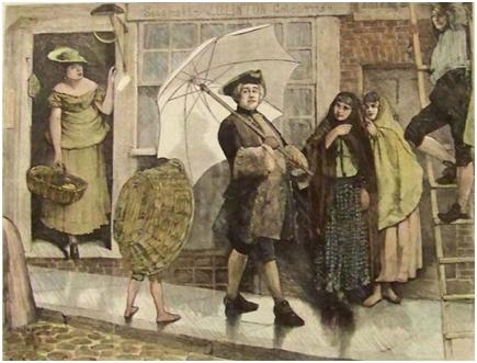 Prvi kišobran u Evropi
