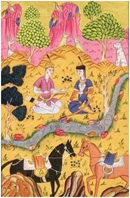 Perzijski car i ribar
