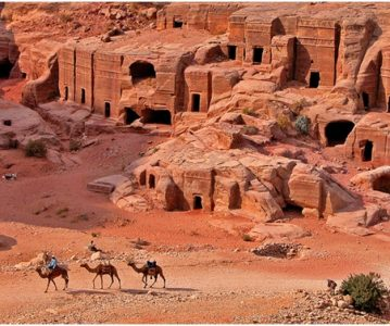 Petra – Mrtvi grad u ljutom kamenu IV dio