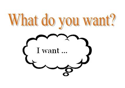 I want … – Ja želim…