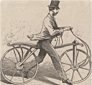 Kratka historija bicikla
