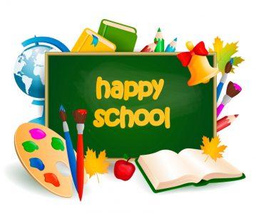 HAPPY SCHOOL (numbers)