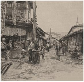 Postanak Sarajeva