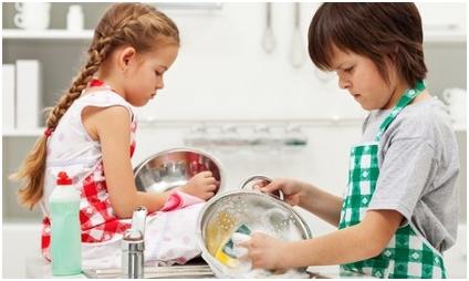 Djeca i kućanski poslovi