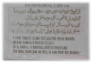 Hasan Kaimija – šejh i pjesnik