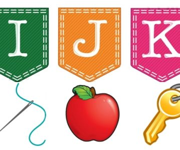 Učimo slova – I, J, K