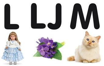 Učimo slova – L, LJ, M