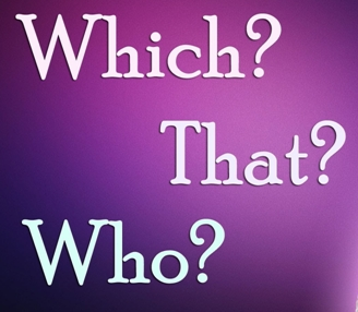 Who, That, Which