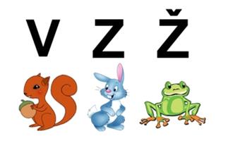 Učimo slova – V, Z, Ž