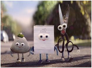 Kamen, papir, makaze
