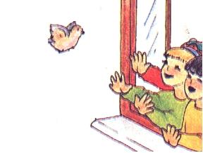Djeca i ptica