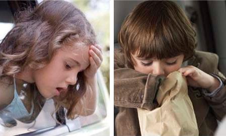 Bolest vožnje (kinetoza, bolest kretanja)