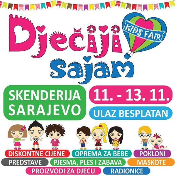 3. Dječiji sajam u Sarajevu