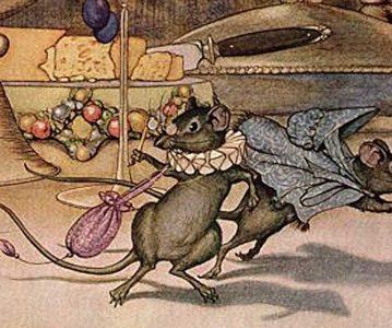 Miš iz grada i miš sa sela