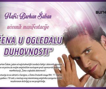 """Hfz. Burhan Šaban – učesnik manifestacije """"Žena u ogledalu duhovnosti"""""""