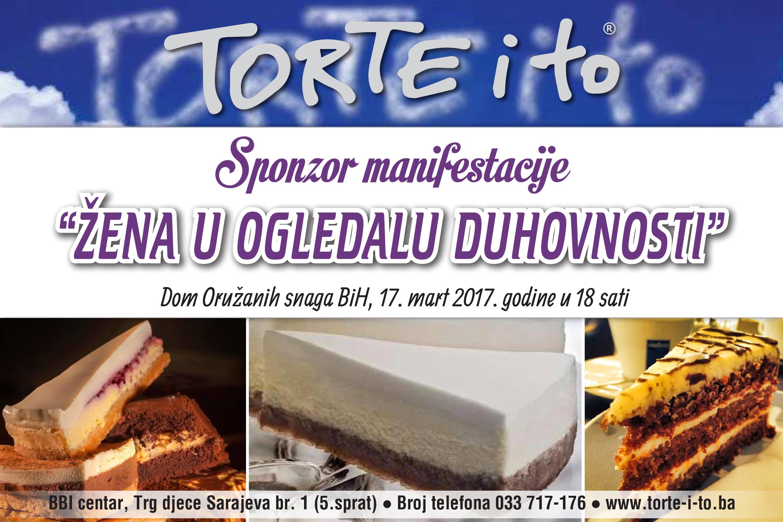 "Slastičarna ""Torte i to"" – sponzor manifestacije ""Žena u ogledalu duhovnosti"""