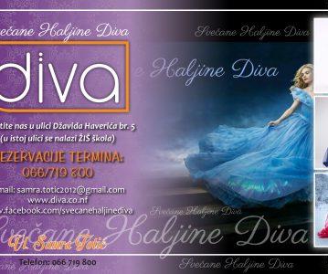 """Salon svečanih haljina """"Diva"""" – sponzor manifestacije """"Žena u ogledalu duhovnosti"""""""