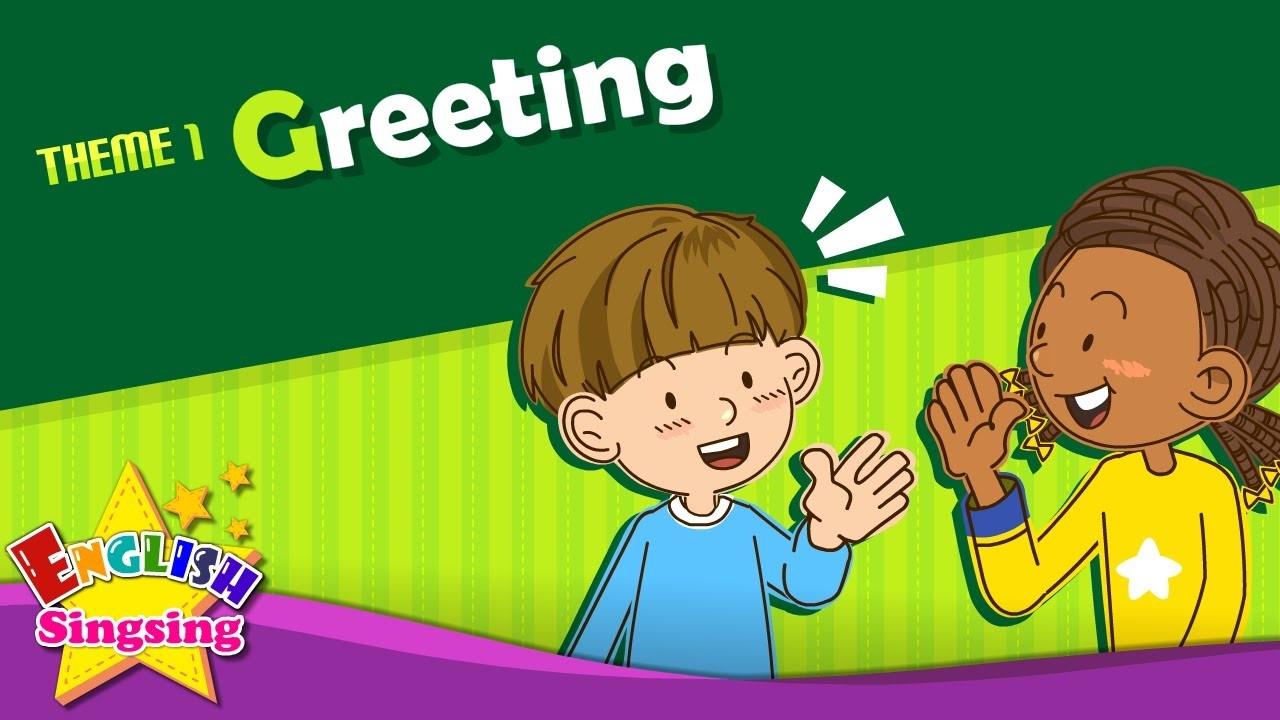 Greeting – Pozdrav