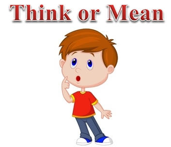 Think or Mean