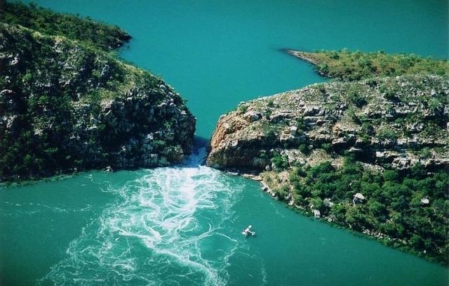 Vodoravni vodopadi u Australiji