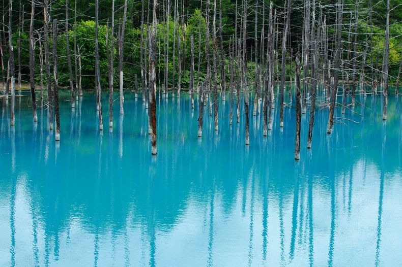 Plavo jezero: Hokkaido