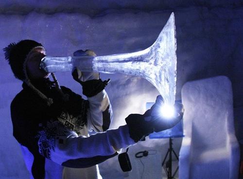 Instrumenti napravljeni od leda